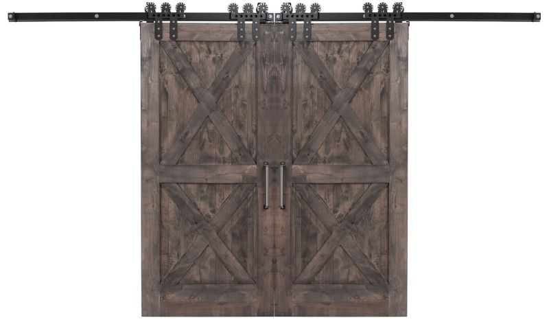 Double X Double Barn Door