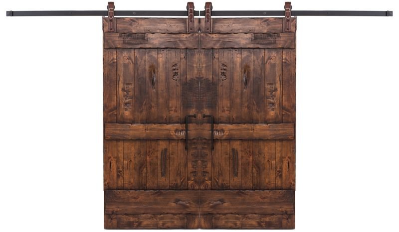 Ranch Double Barn Door