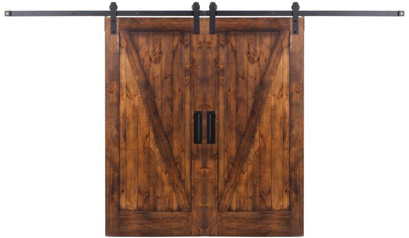Z Double Barn Door