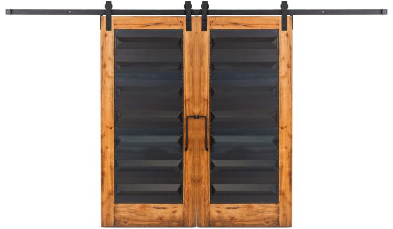 Helms Double Barn Door
