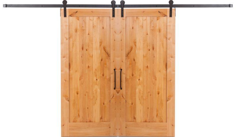 Lewiston Double Barn Door