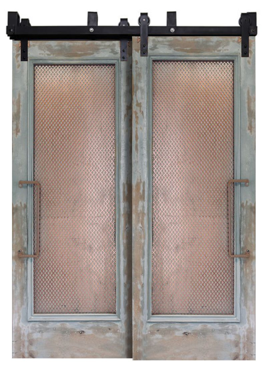 Abandoned Bypassing Barn Doors