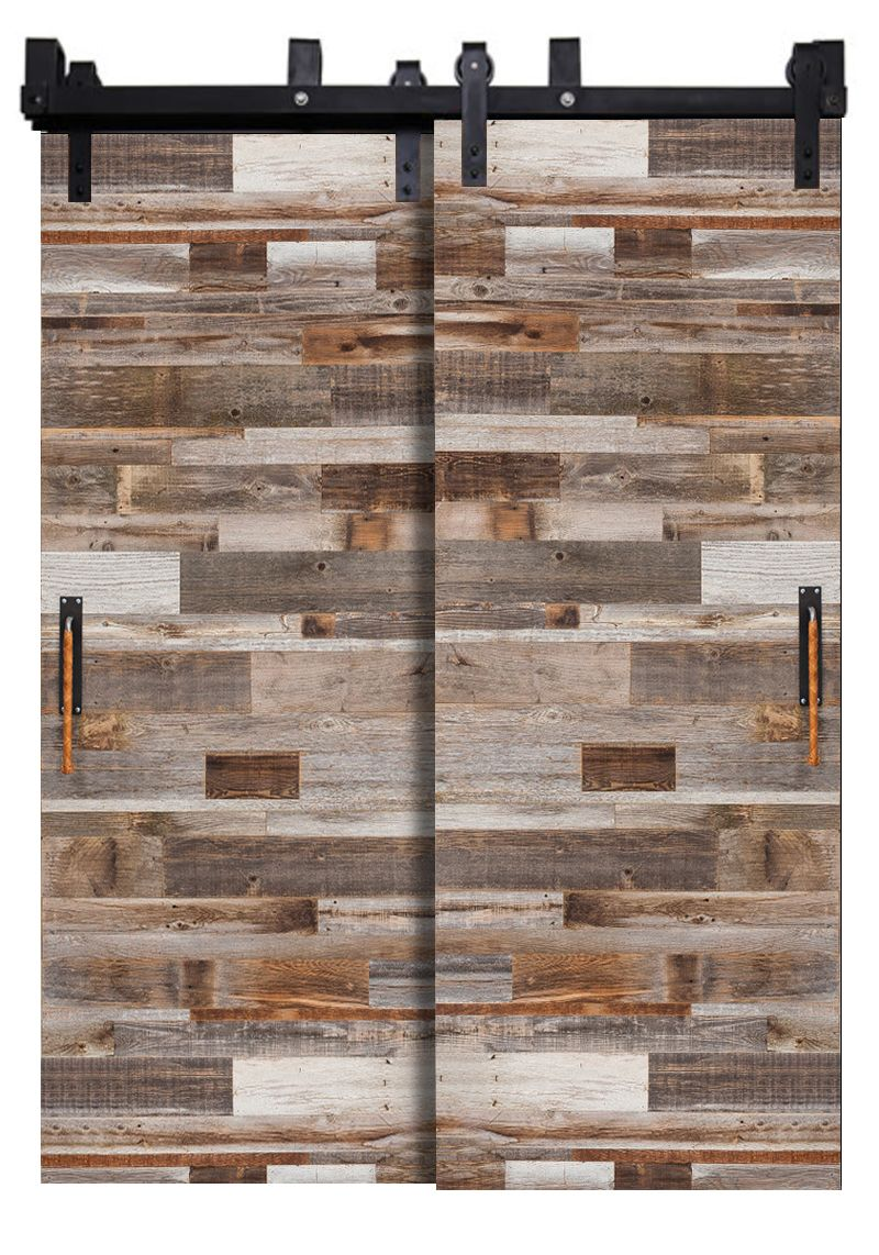 Barn Wood Reclaimed Bypassing Barn Doors