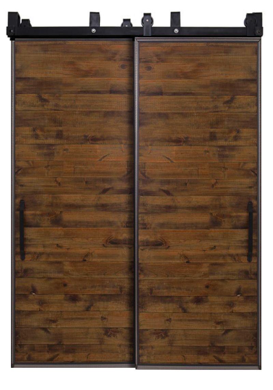 Mountain Modern Bypassing Barn Doors