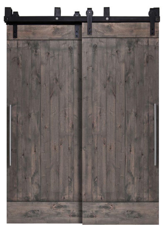 True Bypassing Barn Doors