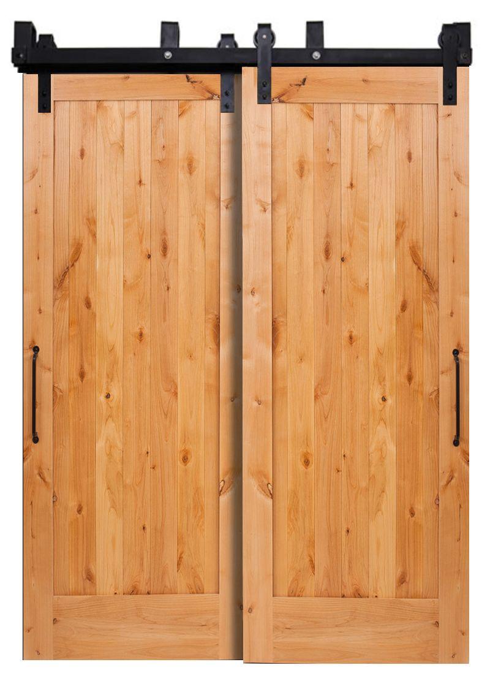 Lewiston Bypassing Barn Doors