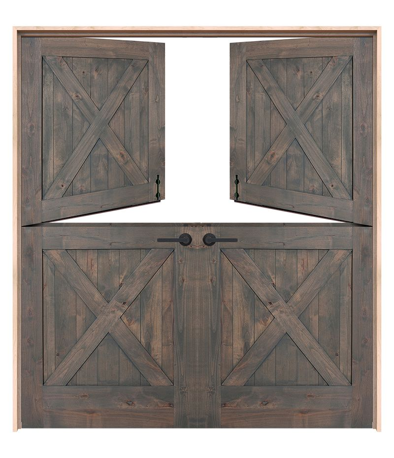 Exterior Barn Double Dutch Doors