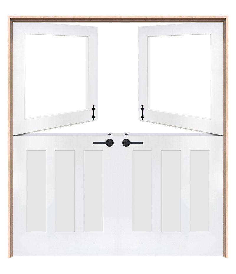 Exterior Standard Double Dutch Doors