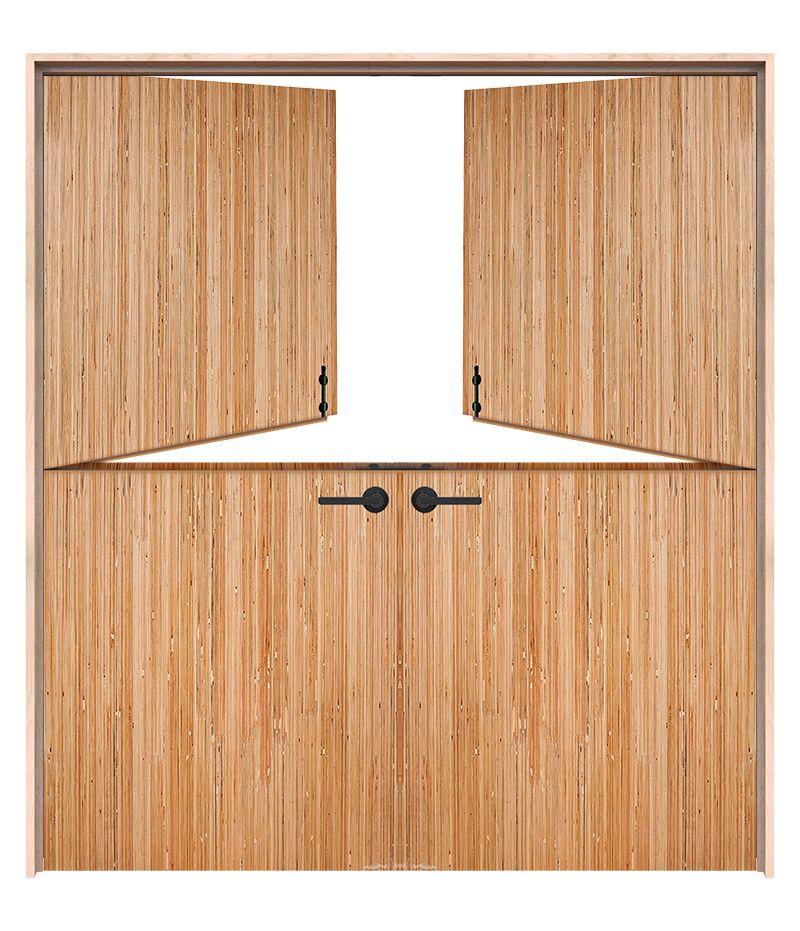 Exterior Valley Double Dutch Doors