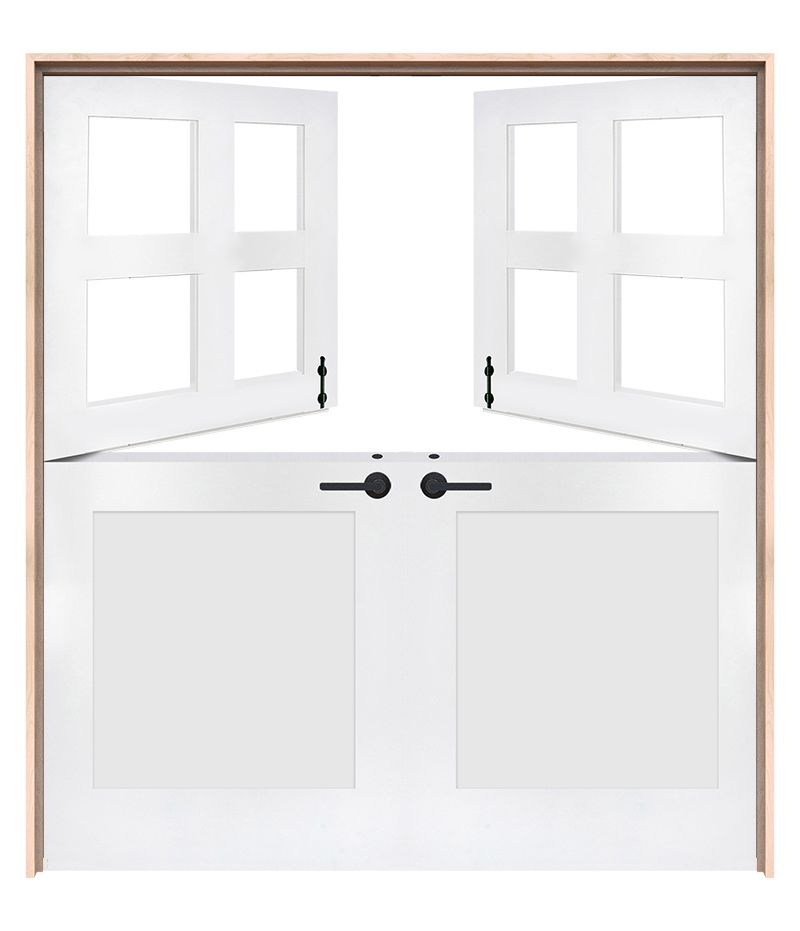 Country Double Dutch Doors