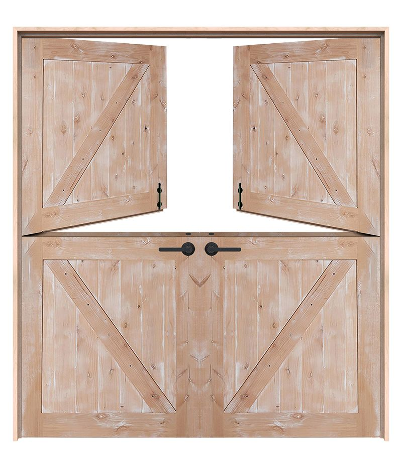 Exterior Classic Double Dutch Doors