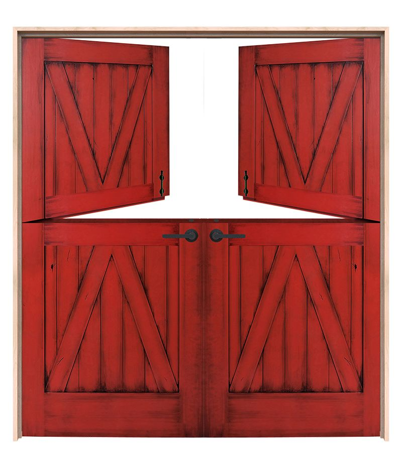 Exterior Corral Double Dutch Doors