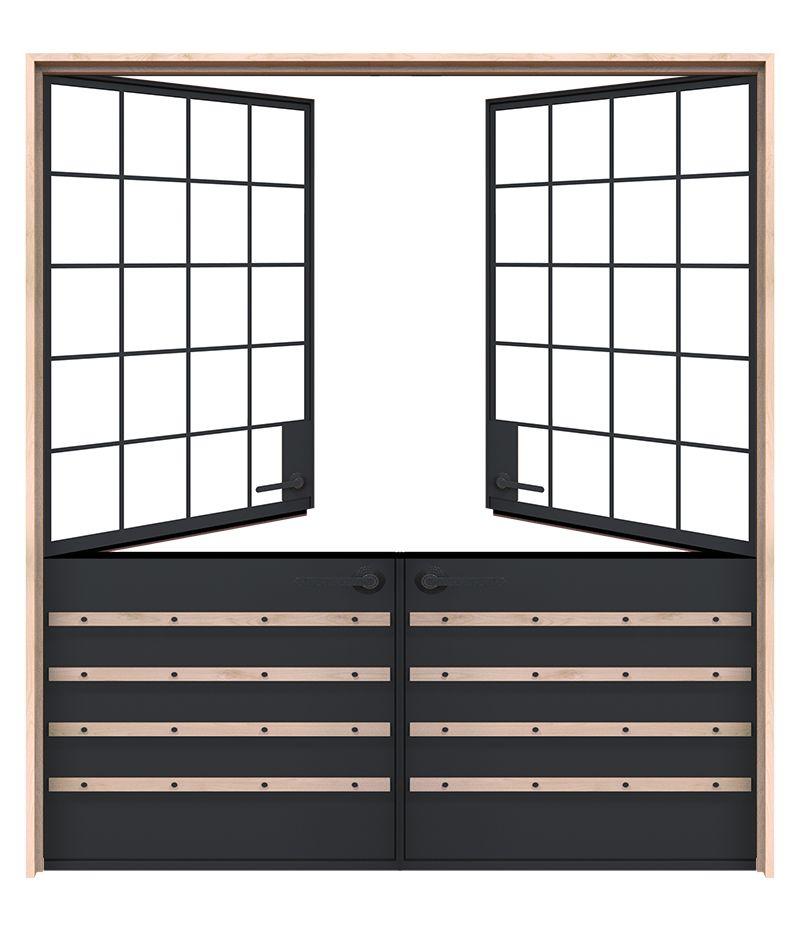 Port Double Dutch Doors