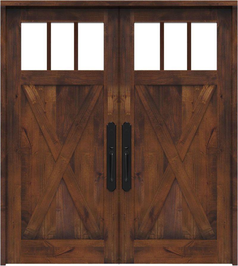 Bartholomew Double Front Door