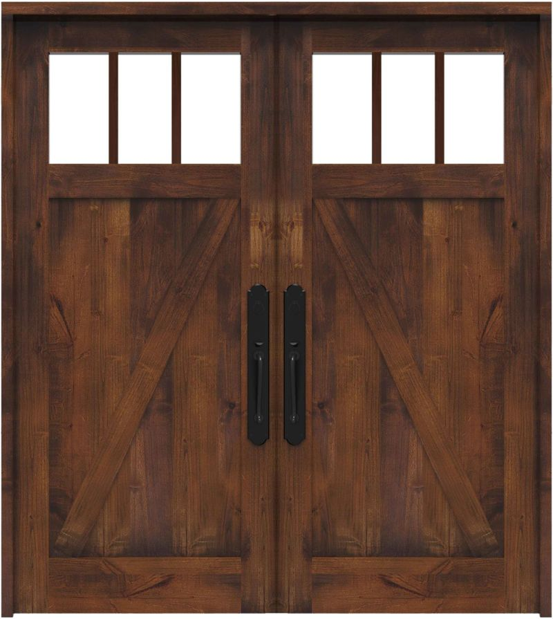 Clover Pass Double Front Door