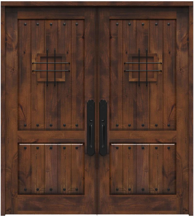 Stronghold Double Front Door