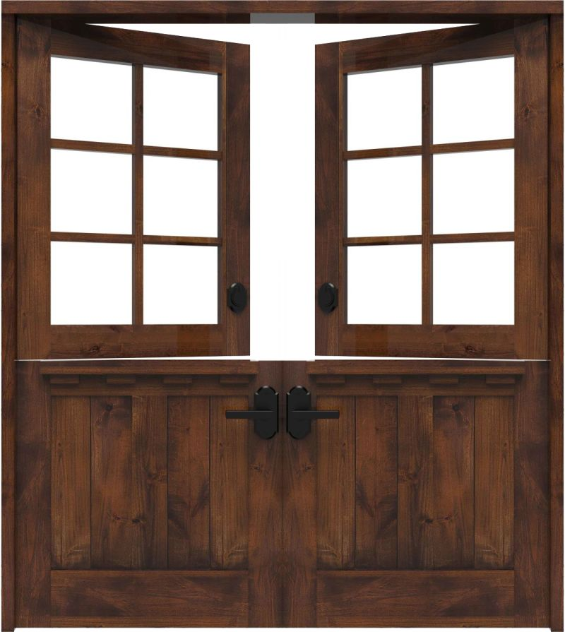 Exterior Dairy Double Dutch Doors