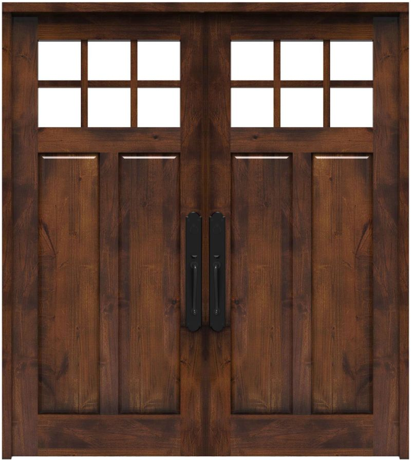 Maple Dale Double Front Door