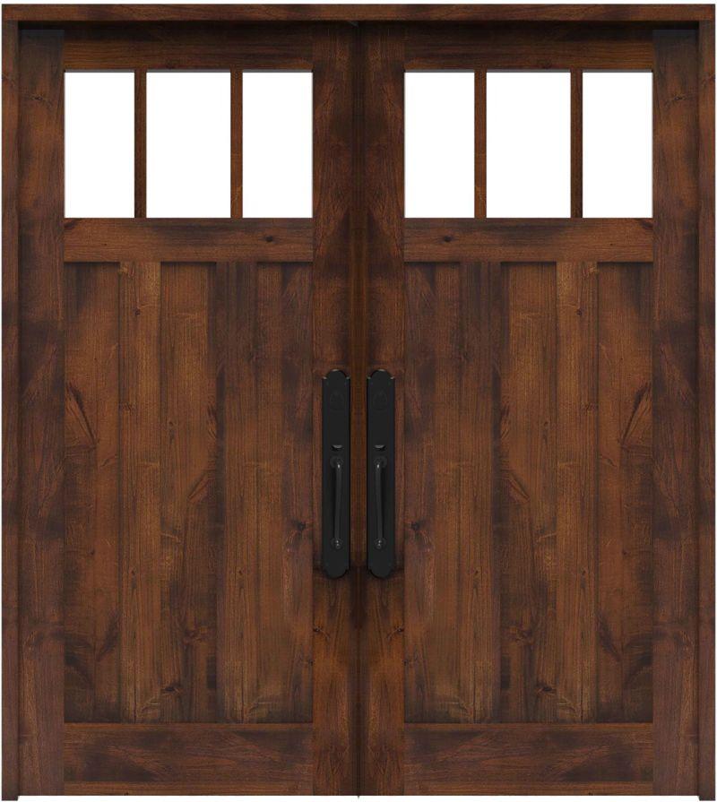 Overland Double Front Door
