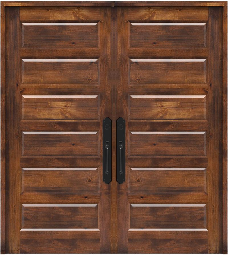 Pioneer Double Front Door