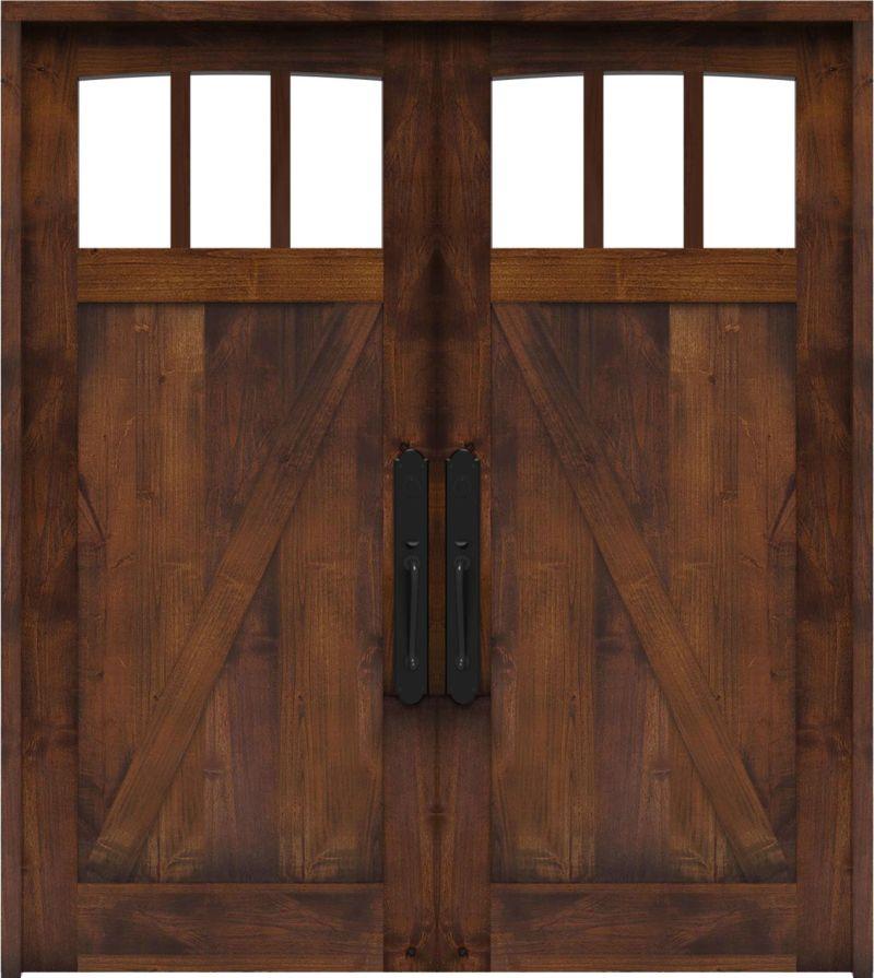Rendevous Double Front Door