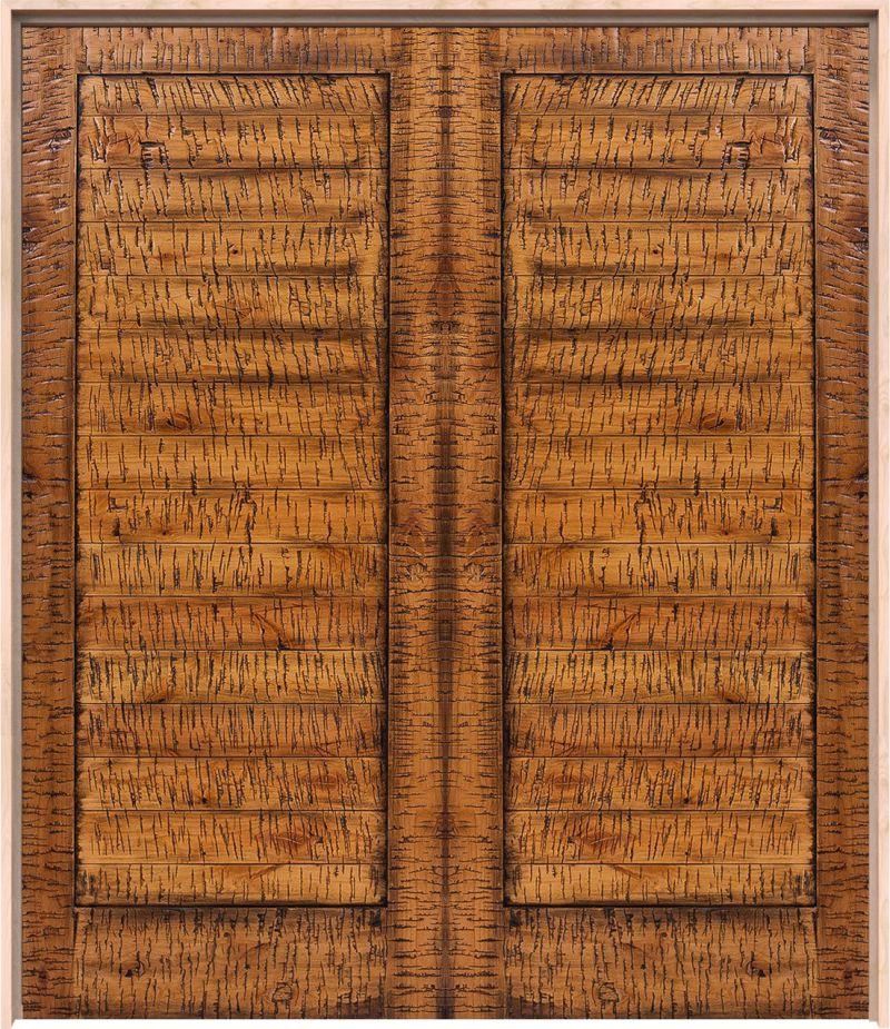 Horizontal Lewiston Interior Double Door
