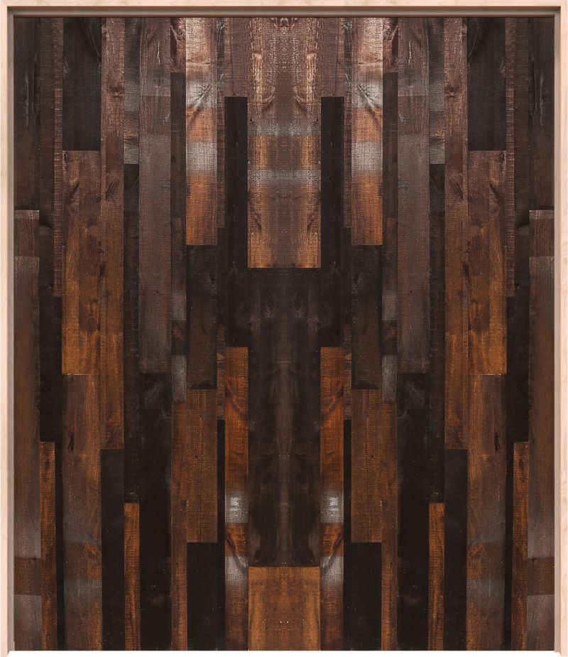 Vertical Rustica Reclaimed Interior Double Door
