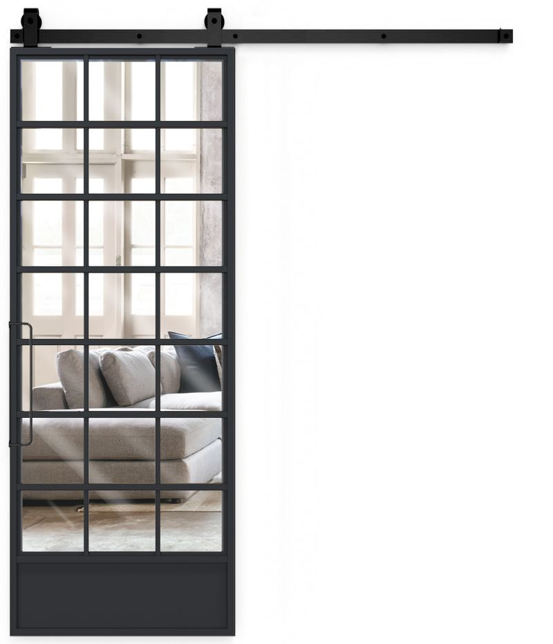 Grand Hall Mirror Barn Door