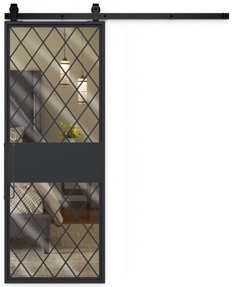 Shoemaker Mirror Barn Door