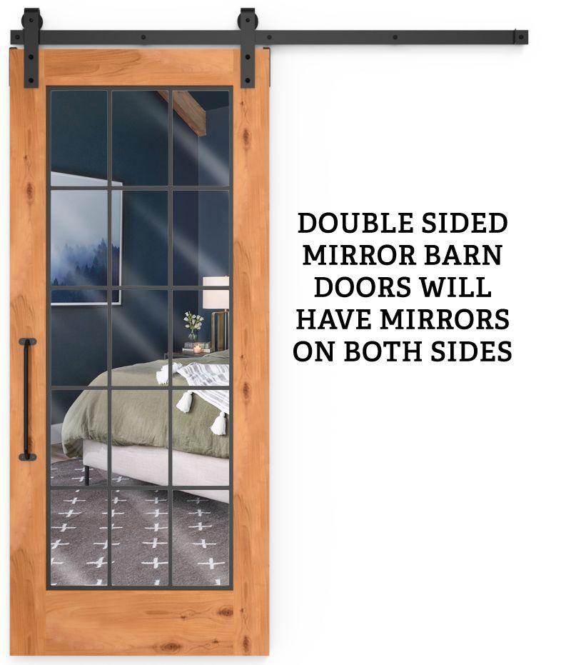 Farmhouse French Full Double Mirror