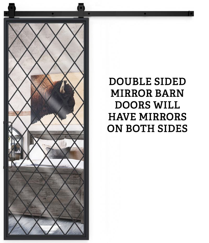 French Chateaux Double Mirror