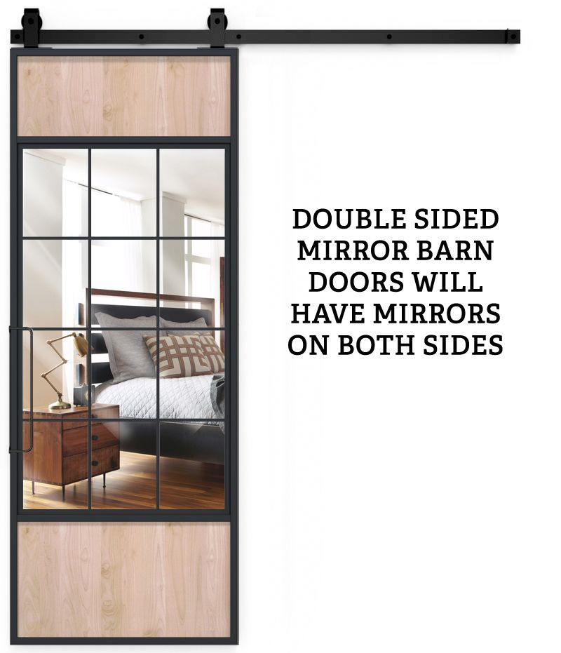 French Orchard Double Mirror