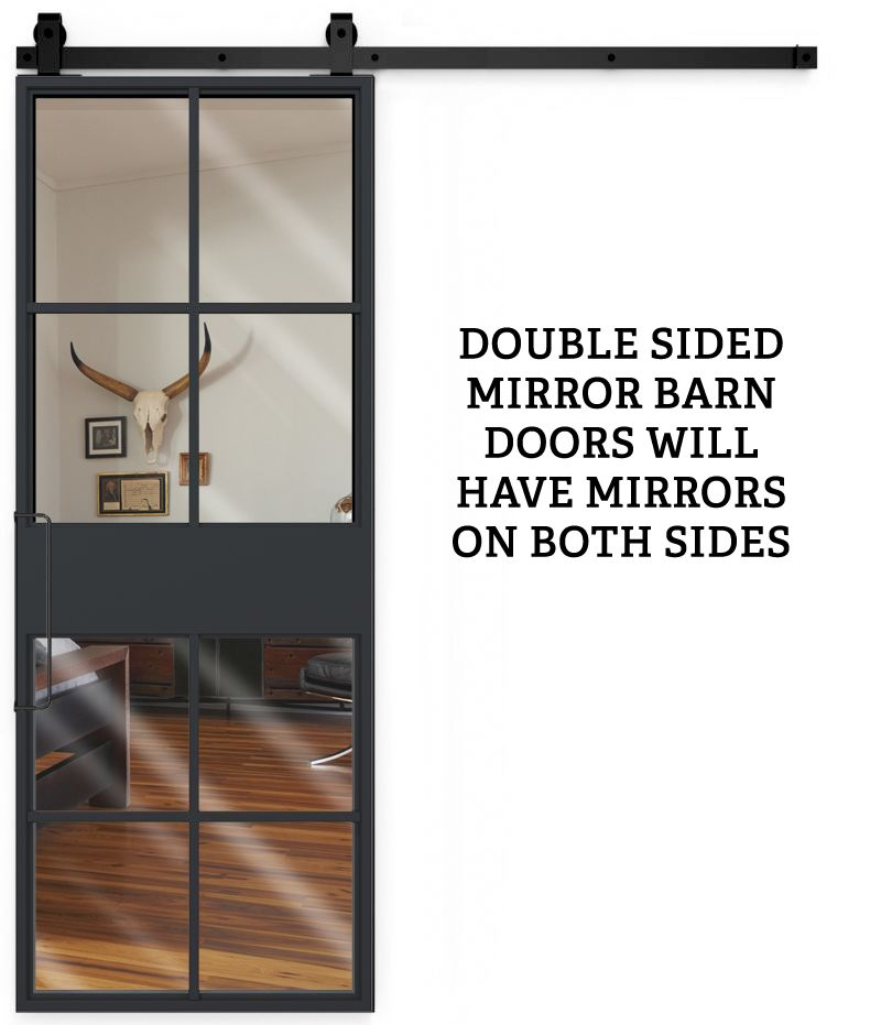 French Terrace Double Mirror