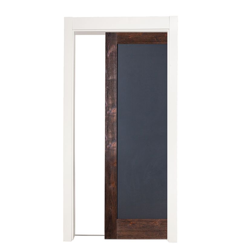 Chalkboard Full Single Pocket Door