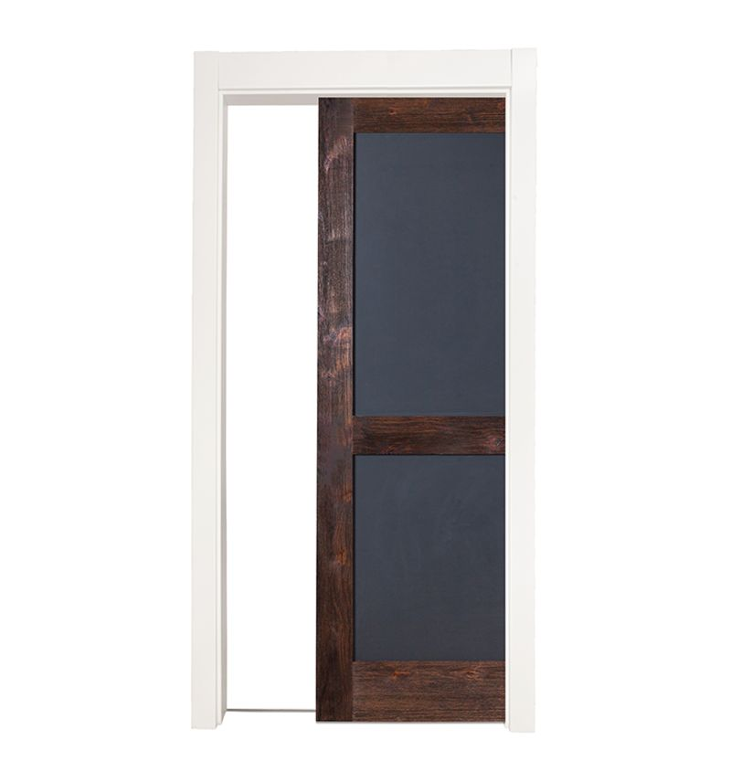 Chalkboard Single Pocket Door