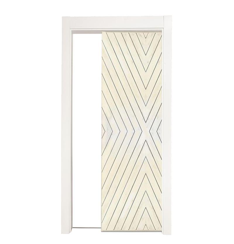 Fraction Single Pocket Door