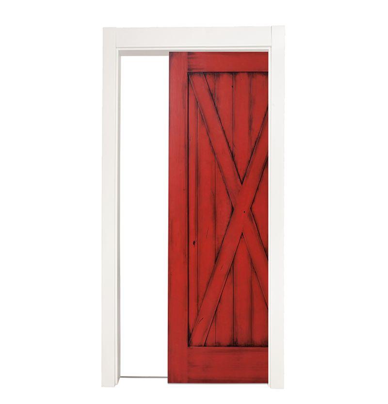 Full X Single Pocket Door