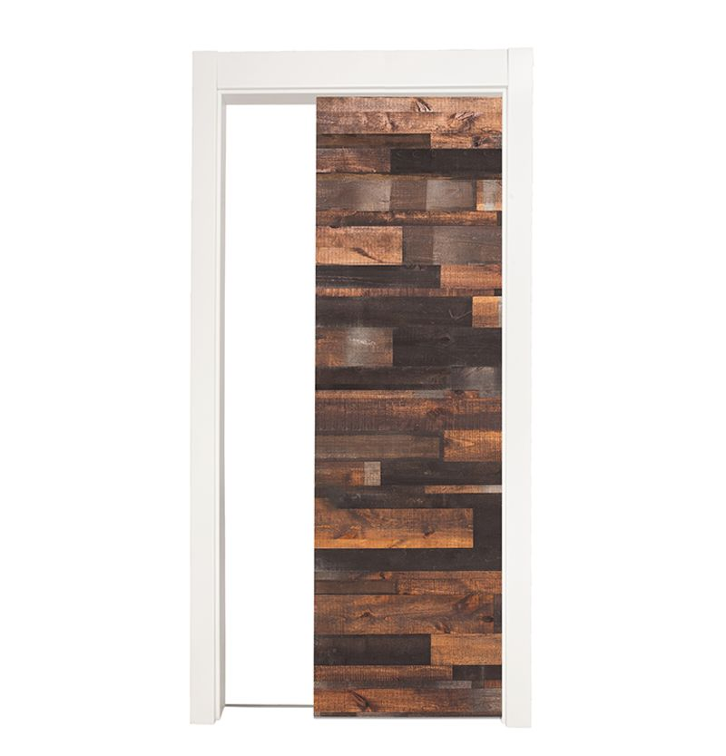 Rustica Reclaimed Single Pocket Door