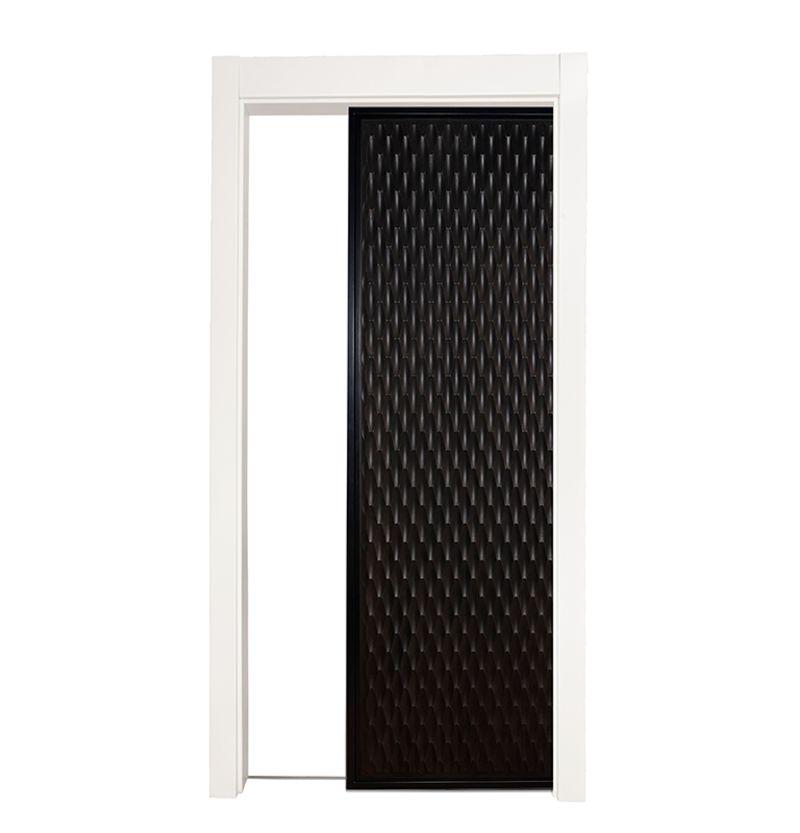 Scallop Single Pocket Door