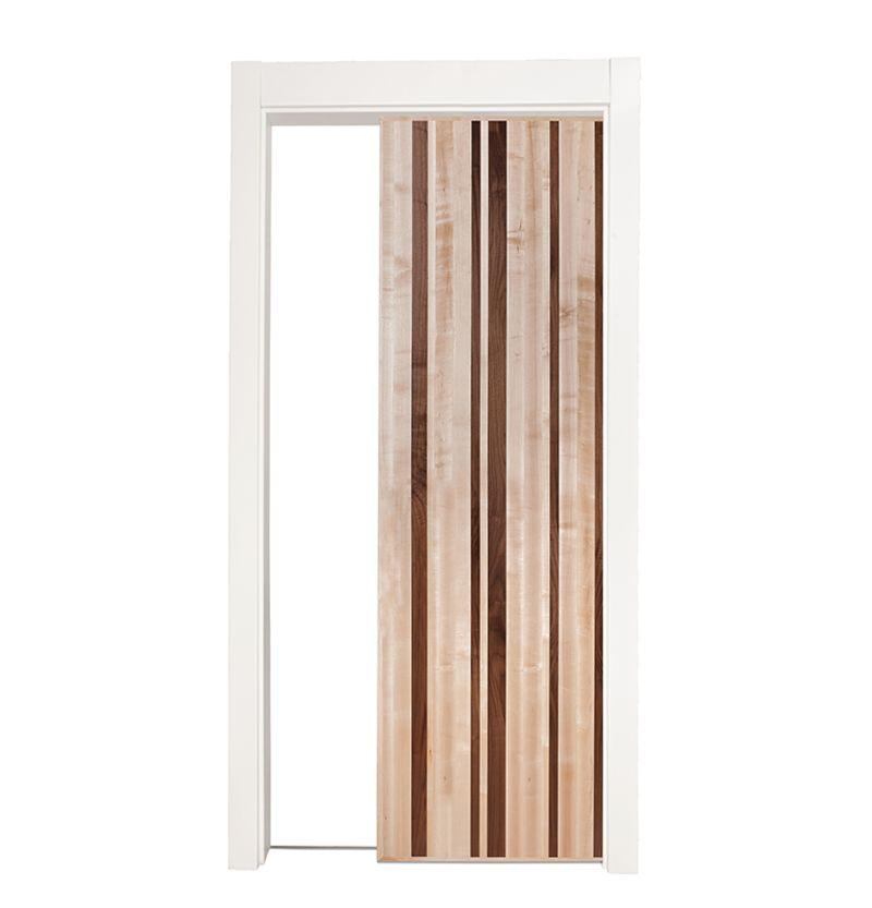 Modern Slab Single Pocket Door