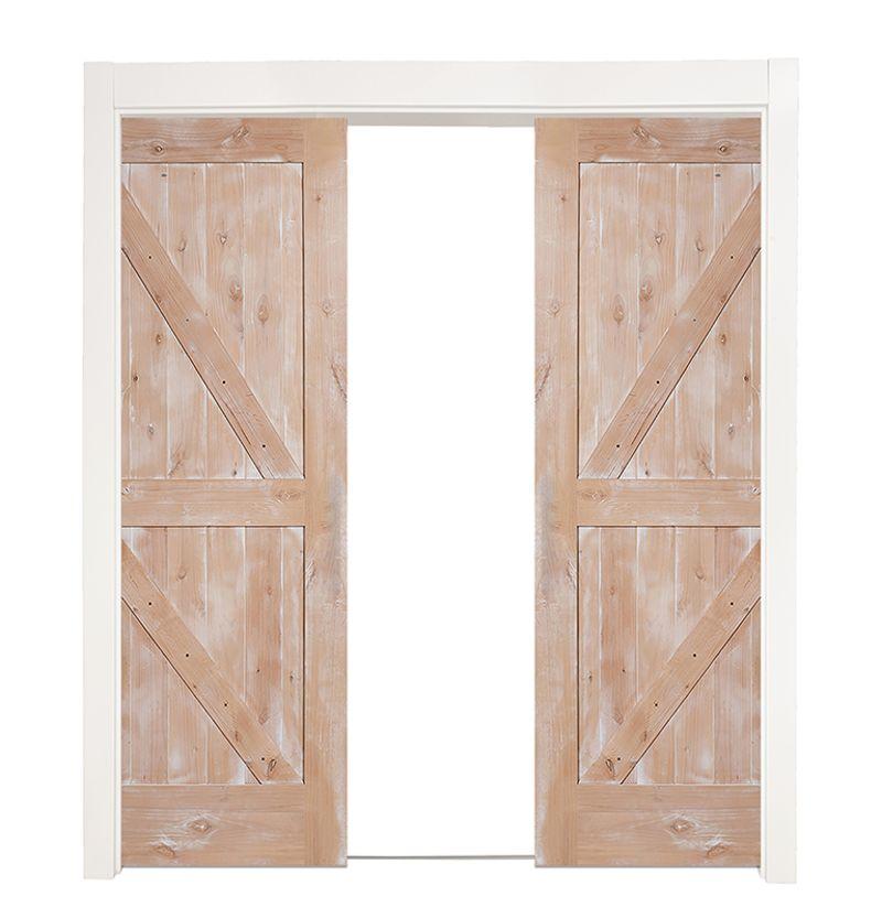 Dutch Z Double Converging Pocket Doors