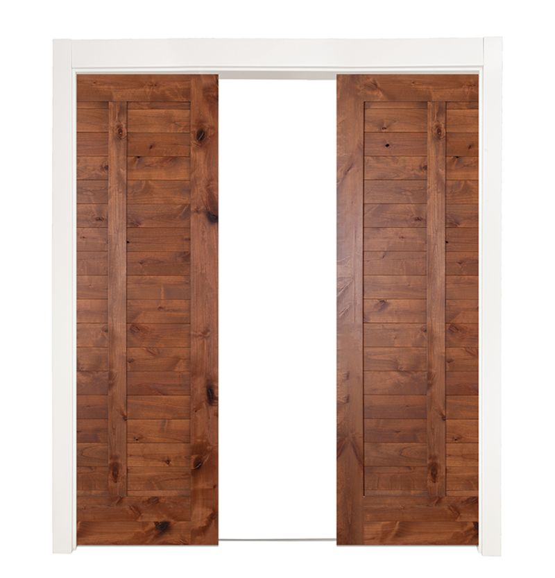 Heartland Double Converging Pocket Doors