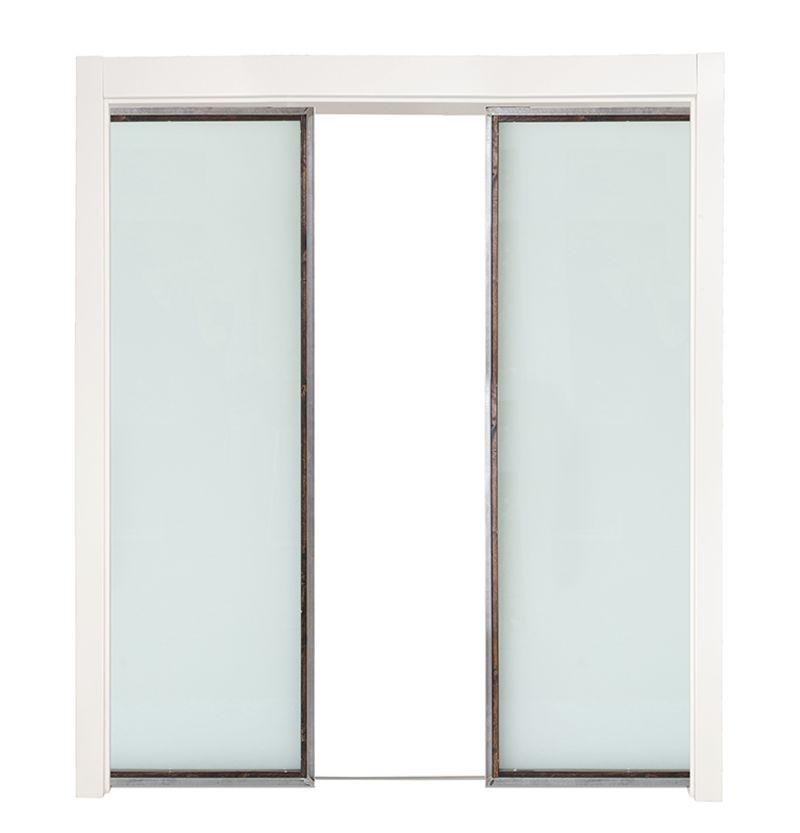 Powell Double Converging Pocket Doors