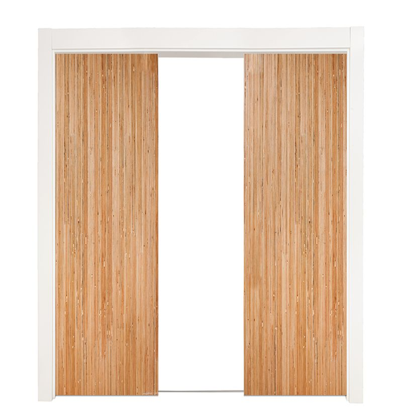 Bryce Double Converging Pocket Doors