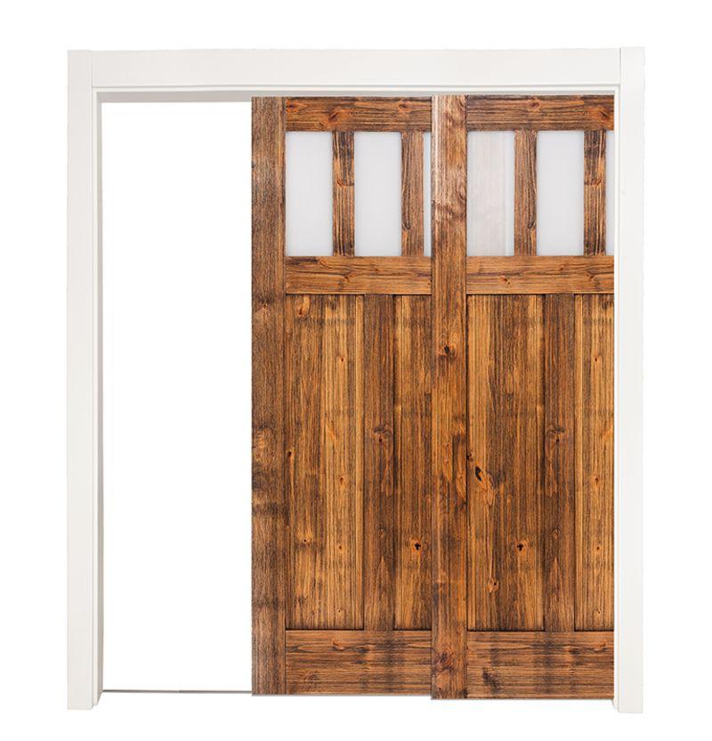 Craftsman Bypassing Pocket Doors