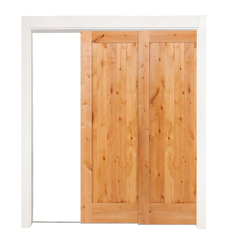 Lewiston Bypassing Pocket Doors