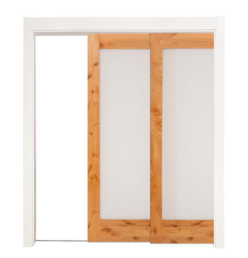 Pearce Bypassing Pocket Doors