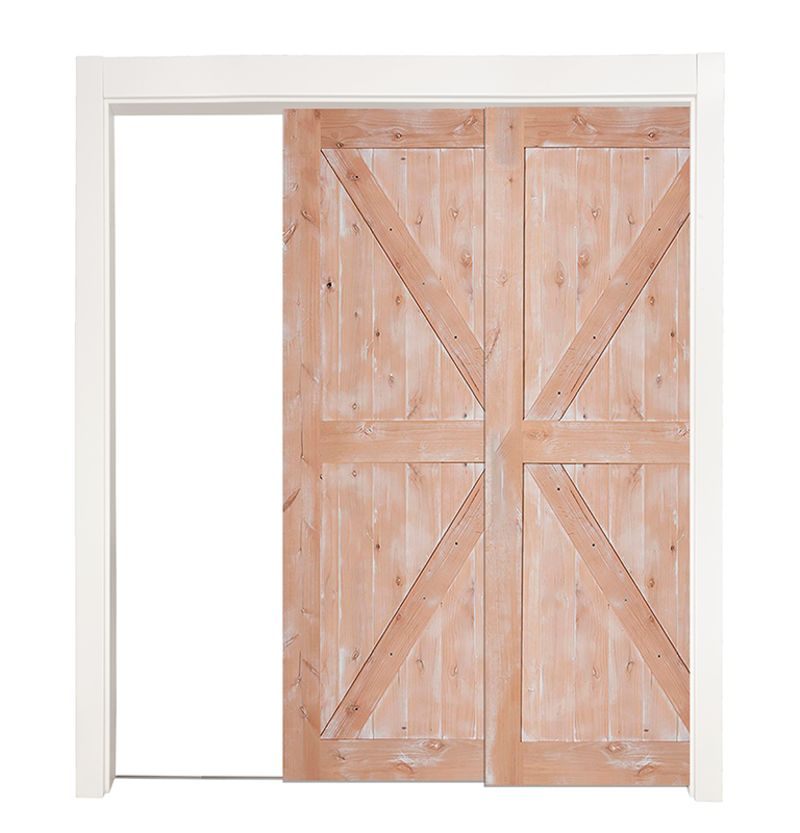 Stable Bypassing Pocket Doors