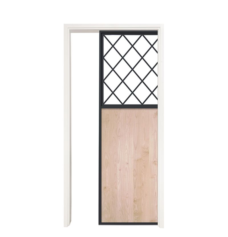 French Farm Single Pocket Door