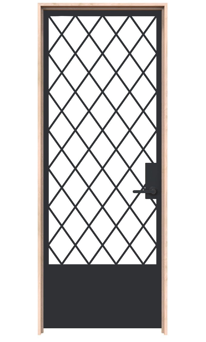Alley Vineyard Interior Door